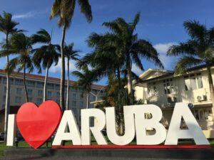 I love een vakantie naar Aruba